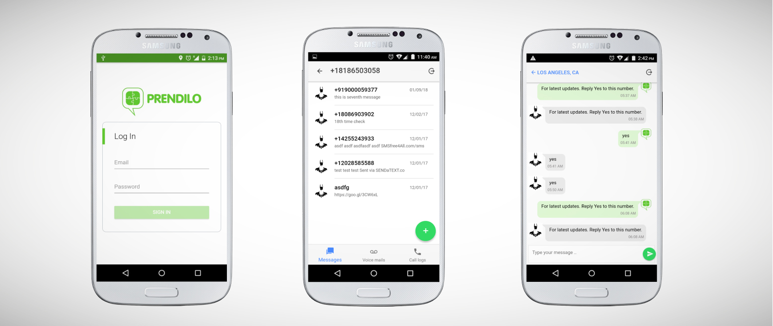 Prendilo - Designer for Twilio Call Flow, IVR, Voice Messages, Auto Responders, Text Messages